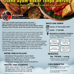 Training Usaha Ayam Bakar Tanpa Warung, 27 November 2017