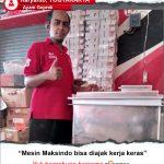 Ayam Geprek : Pekerjaan Makin Mudah Dengan Mesin Maksindo
