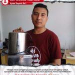 Ayam Geprek Sa'i : Produksi Tidak Terhambat Dengan Mesin Giling Bumbu Maksindo