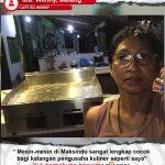 Cafe Bu Wenny : Mesin Maksindo Memang Lengkap