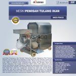 Jual Mesin Pemisah Tulang Ikan (FSH33) di Surabaya