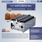 Jual Mesin Waffle Bentuk Bell (MKS-BELL5) di Surabaya