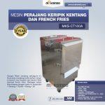Jual Mesin Perajang Keripik Kentang dan French Fries – MKS-CT100A di Surabaya