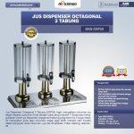 Jual Jus Dispenser Octagonal 3 Tabung  (DSP33) di Surabaya