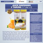 Jual Juice Dispenser 2 Tabung (17 Liter) – ADK17x2 di Surabaya