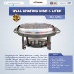Jual Oval Chafing Dish 5 Liter di Surabaya