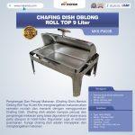 Jual Chafing Dish Oblong Roll Top – 9 Liter di Surabaya