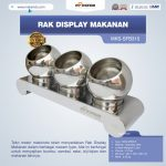 Jual Rak Display Makanan MKS-SFB315 di Surabaya