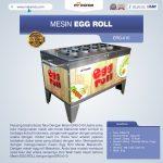 Jual Mesin Pembuat Egg Roll ERG-010 di Surabaya