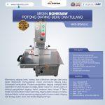 Jual Bonesaw Pemotong Daging Beku (MKS-BSW210) Di Surabaya