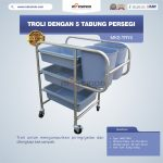 Jual Troli Dengan 5 Tabung Persegi MKS-TRY5 di Surabaya