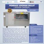 Jual Pembagi Adonan Bulat (Dough Divider) MKS-BA80 di Surabaya