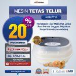Jual Mesin Tetas Telur 12 Butir Otomatis – AGR-TT12PL di Surabaya