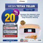 Jual Mesin Penetas Telur 32 Butir (AGR-TT32) di Surabaya