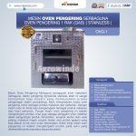 Jual Mesin Oven Pengering Serbaguna (Stainless – Gas) di Surabaya
