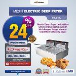 Jual Mesin Electric Deep Fryer MKS-82 di Surabaya
