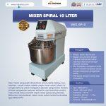 Jual Mixer Spiral 10 Liter (MKS-SP10) di Surabaya