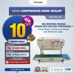 Jual Mesin Continuous Band Sealer MSP-BSL-88 Di Surabaya