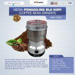 Jual Penggiling Biji Kopi (Coffee Bean Grinder) MKS-CG50 di Surabaya