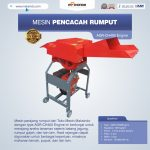 Jual Mesin Pencacah Rumput AGR-CH400 Engine di Surabaya