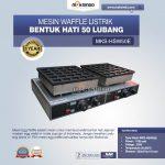 Jual Listrik Waffle Bentuk Hati 50 Lubang MKS-HSW50E di Surabaya